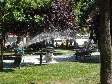 Gezi'ye çocuk parkı