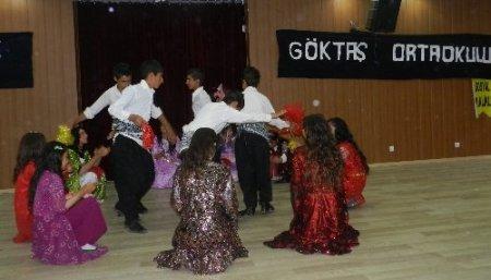 Göktaş Köyü İlköğretim Okulu'ndan yıl sonu etkinliği