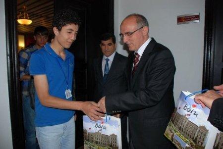 'Gönüller Bir Olsun' projesi kapsamında 44 öğrenci Bolu'ya geldi