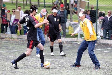 Görme engelliler, görenleri futbolda yendi