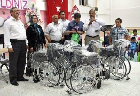 Gülnarlı engelliler Miraç Kandili'ni kutladı