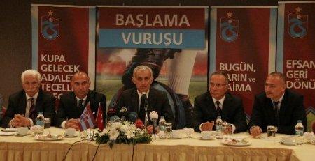 Hacıosmanoğlu: Trabzonspor'un hocası Mustafa Reşit Akçay'dır