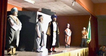 'Hasreti Fatih' Merzifon'da sahnelendi
