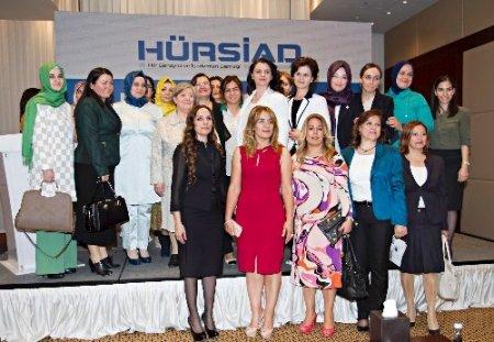 HÜRSİAD Kadın Platformu, 'iş Dünyasında Kadın Paneli' düzenledi