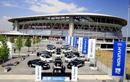 Hyundai'den U20 Dünya Kupası'na 112 araç