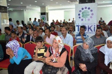 Iğdır'da 224 sosyal konut çekilişle sahibini buldu