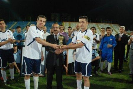 İhsan Eroğul Futbol Turnuvası'nın şampiyonu Mersin Adliye oldu