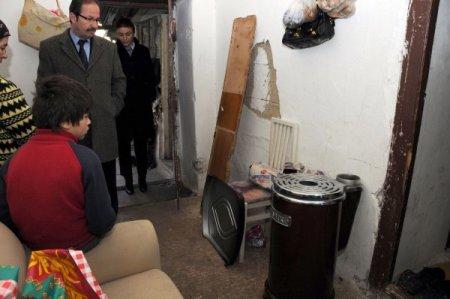 İhtiyaç sahiplerine belediyeden soba yardımı