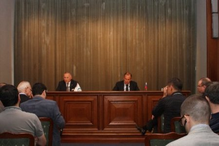 İKÖ Genel Sekreteri İhsanoğlu, Lavrov'la Suriye krizini görüştü