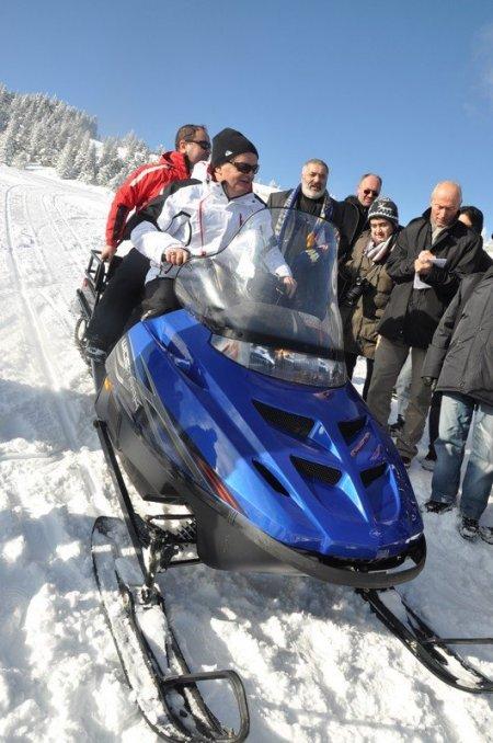 Ilgaz'da kayak sezonu için resmi açılış yapıldı