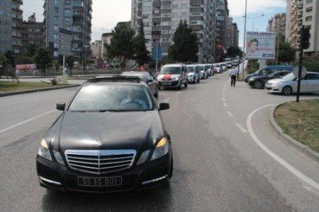 İlkadım Belediyesi, 151 yeni aracını şehir turuyla tanıttı