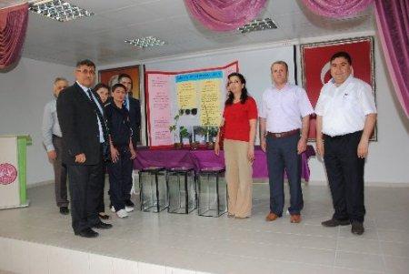 İmam hatipli öğrencinin projesi Kaymakam Bulgurlu'nun ilgisini çekti