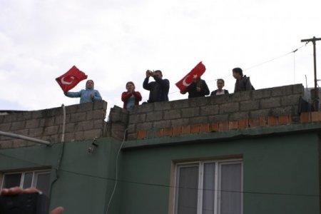 İncirlik önünde 'Mescit basan ABD askerleri bulunsun' eylemi