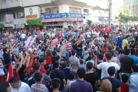 İskenderun'da Taksim gerginliğine takviye kuvvet