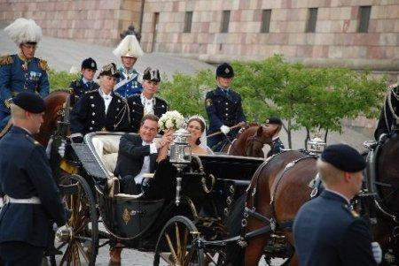 İsveç Prensesi Madeleine, dünya evine girdi
