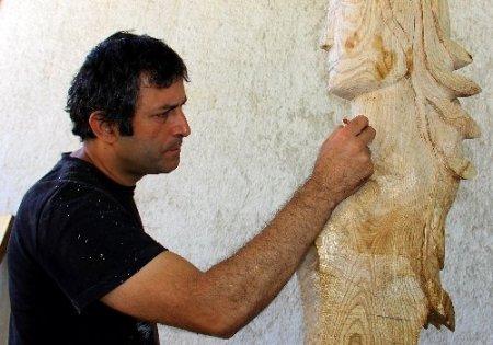 İtalyan sanatçıdan Türkiye haritası çalışması