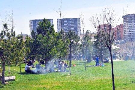 İtfaiyeden piknikçilere yangın uyarısı