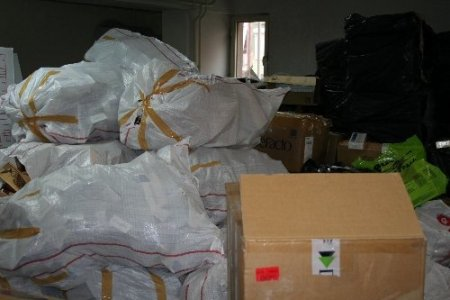 İzmir'de 1 milyon paket kaçak sigara ele geçirildi