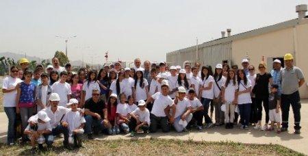 İzmirgaz'dan öğrencilere çevreci gezi