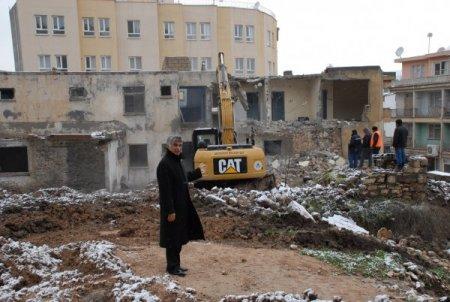 Kale Projesi alanındaki son konut da yıkıldı