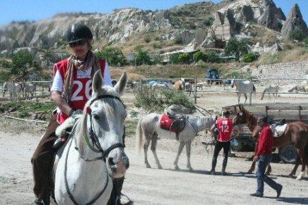 Kapadokya'da Atlı Dayanıklılık Yaz Kupası yarışmaları başladı