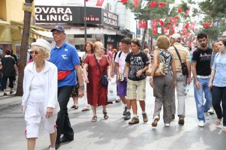 Karşıyaka'yı 2012'de yaklaşık 5 bin turist gezdi