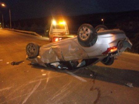 Keçiborlu'da trafik kazası: 1 ağır yaralı