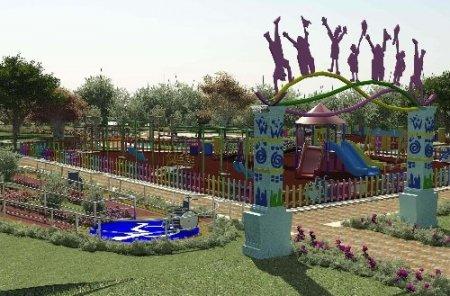 Keçiören'de engelliler için 'Engelsiz Park' açıldı