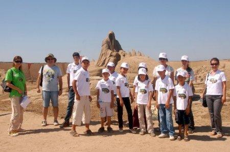 Kepezli çocuklar Antalya'yı gezerek tanıyor
