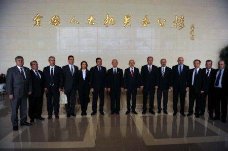 Kılıçdaroğlu, Çin Komünist Partisi yetkilisiyle görüştü
