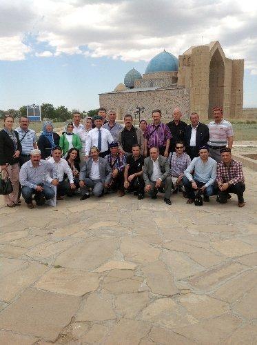 Kırşehir Belediyesi'nden Kazakistan kültürel gezisi
