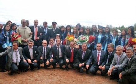KOGİAD üyeleri Kırgızistan'ı gezdi