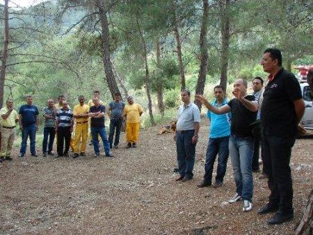 Kozan Orman Müdürlüğü yangın sezonuna hazır
