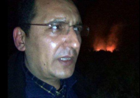 Kozan'da bir hektar zeytinlik ve makilik alan yandı