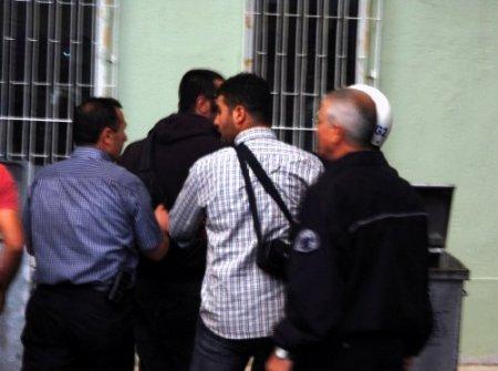 Kütahya'da protestocu gruba, polisten müdahale