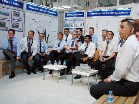 Leoni Kablo'nun dünya müdürleri Bursa'da buluştu
