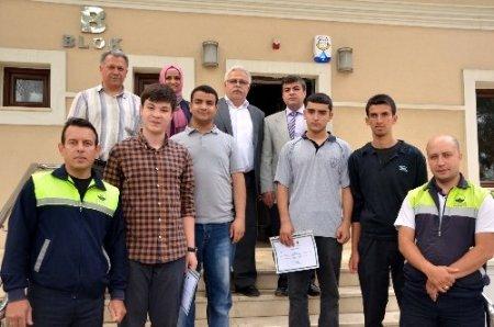 Lise öğrencilerine çevre semineri