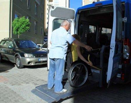 LYS'ye giren engellilere servis hizmeti