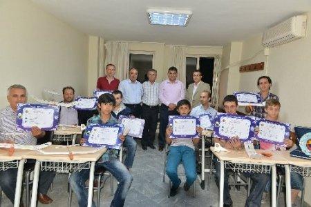 Maket uçak kursunun tamamlayan 30 kişi sertifika aldı