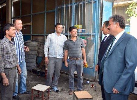 Malatya'da Sanayi Sitesi'nin altyapısı yenilendi