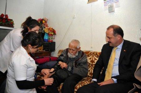 Mamak'ta geçen yıl 7 bin vatandaşa evde bakım hizmeti ulaştı