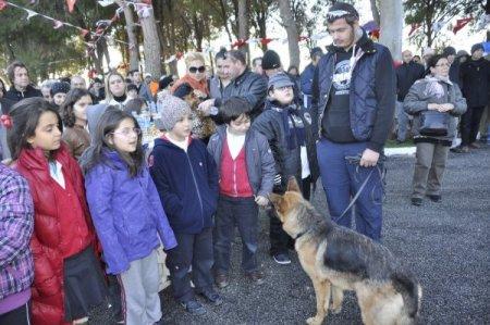 Manavgat'ta hayvan barınağı törenle hizmete girdi