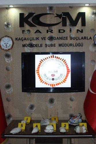 Mardin'de 8 bin 681 adet Ecstasy hap ele geçirildi