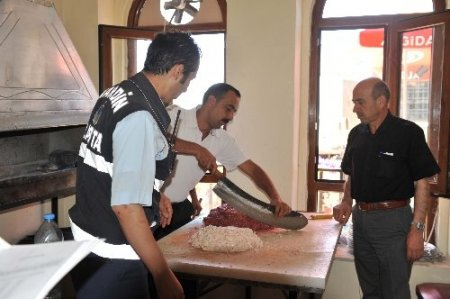 Mardin'de gıda denetimleri artırıldı