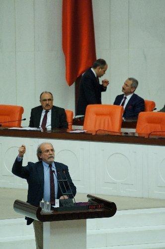 Meclis Genel Kurulu'nda 'küstah' tartışması