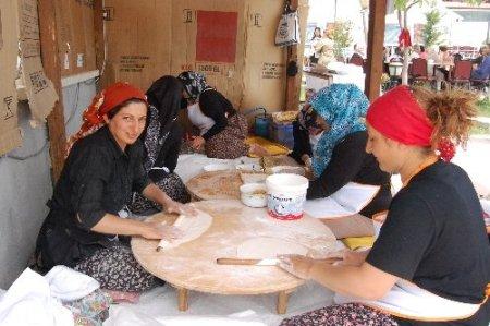 Merzifonlu kadınlar, üretip aile ekonomisine katkı sağlıyor