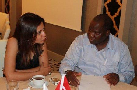 Mozambikli işadamları AGİD'i ziyaret etti