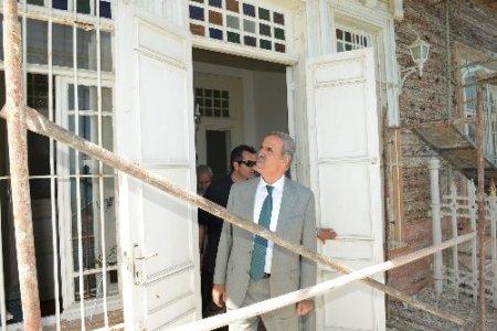 Mudanya Mütareke Evi'nin restorasyonu tamamlanıyor