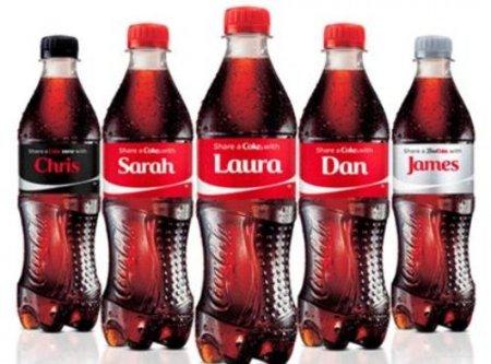 Muhammed ismi Coca-Cola şişelerinde yok