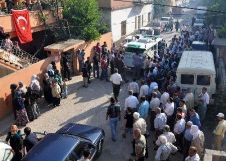Mustafa Kuday'ın cenazesi Reyhanli'ya getirildi